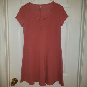 Burnt Orange Z Supply Dress